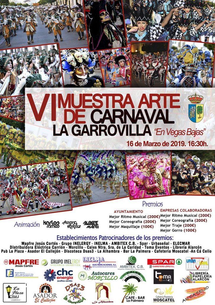 VI Muestra Arte de Carnaval La Garrovilla