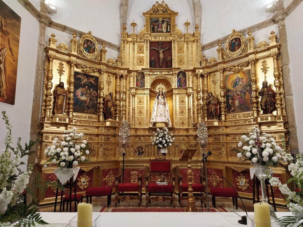 Interior Iglesia Ntra Sra de la Asunción